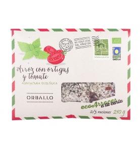 Arroz con ortigas y tomate, Orballo (210g) SanoBio
