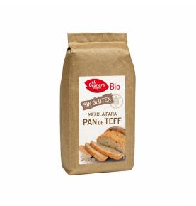 Mezcla para pan de teff  Bio, El Granero (450g) SanoBio