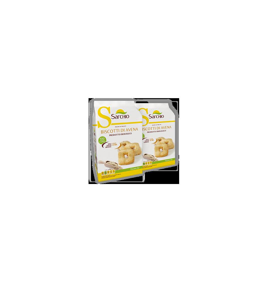 Galletas integrales de avena y quinoa canela y limon