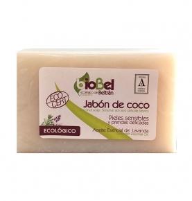 Jabón pastilla coco Eco, Biobel (240g)  de Biobel