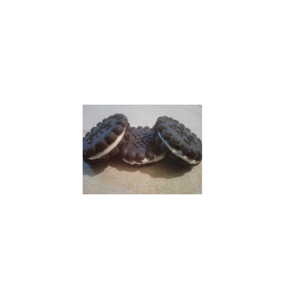 Galletas de cacao con relleno crema blanca Bio Pasteco (80g)  de Gumendi