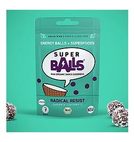 Energy Balls Aronia y Coco Bio-Raw Sin gluten, Superball (48g)  de SUPERBALL