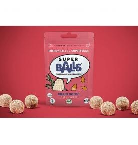 Energy Balls Maca-Almendras Bio-Raw Sin gluten, Superball (48g)  de SUPERBALL