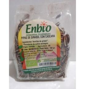 Pipas de girasol cáscara Bio, Enbio (150g)  de Gumendi