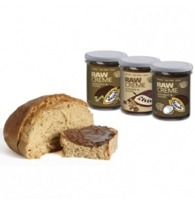 Crema crudivegana Almendra y Cacao Bio, Simply Raw (170g)  de Simply Raw