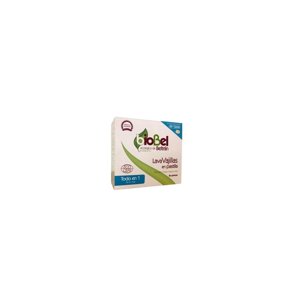 Pastilla lavavajillas Eco, Biobel (30 unidades)  de Biobel