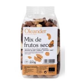 Mezcla de frutos secos Bio, Oleander (200g)  de Oleander Bio