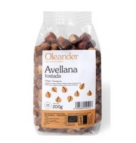 Avellana tostada con piel Bio, Oleander (200g)  de Oleander Bio