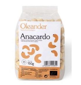 Anacardo crudo Bio, Oleander (150g) SanoBio