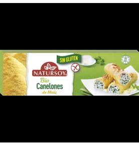 Canelones Precocidos de Maíz Bio, Natursoy (250g)  de NATURSOY