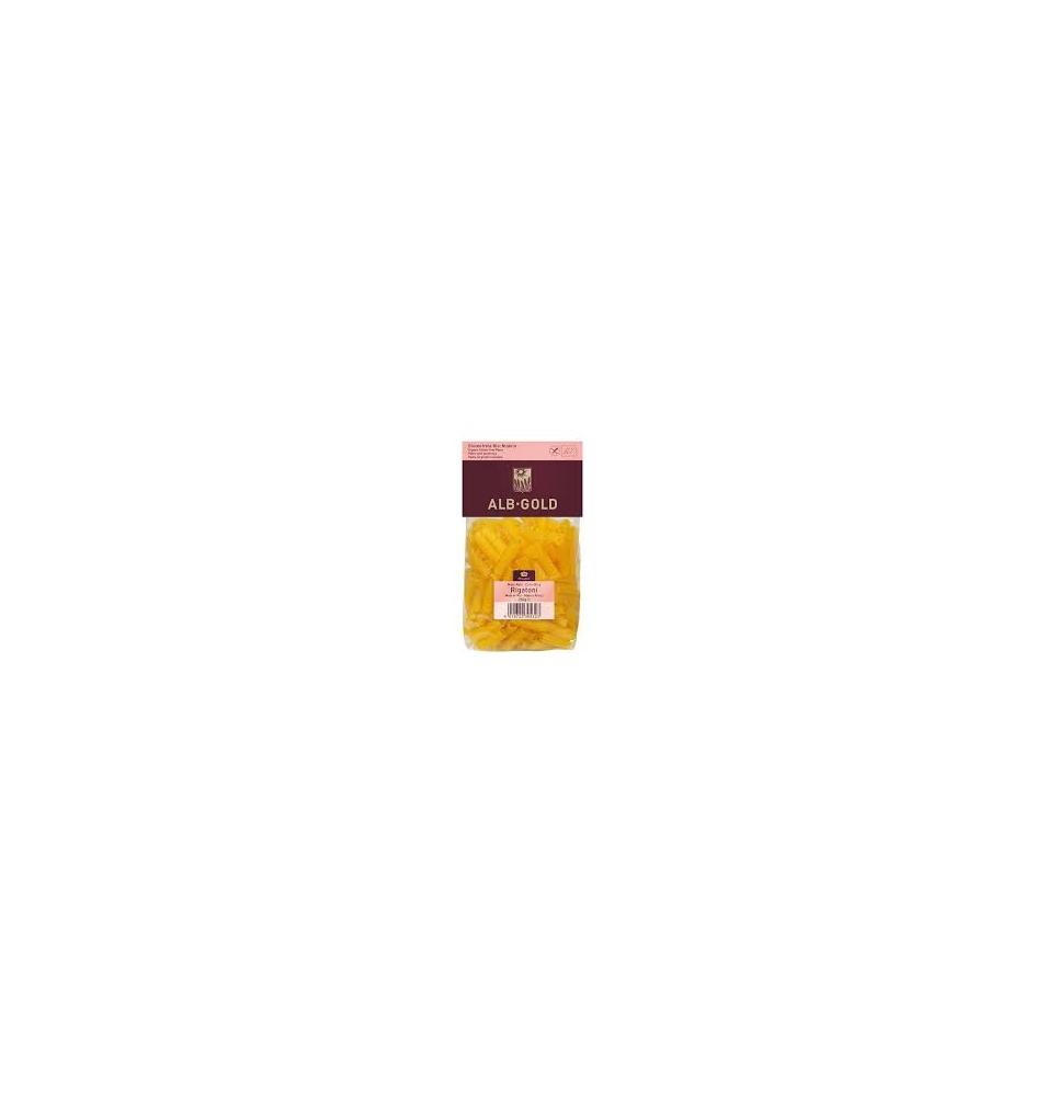 Macarrón (ancho) maíz arroz S/Gluten, Alb-Gold (250g)  de
