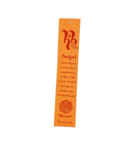 Incienso natural Parijat, H&B Incense (20g)  de H&B Incense