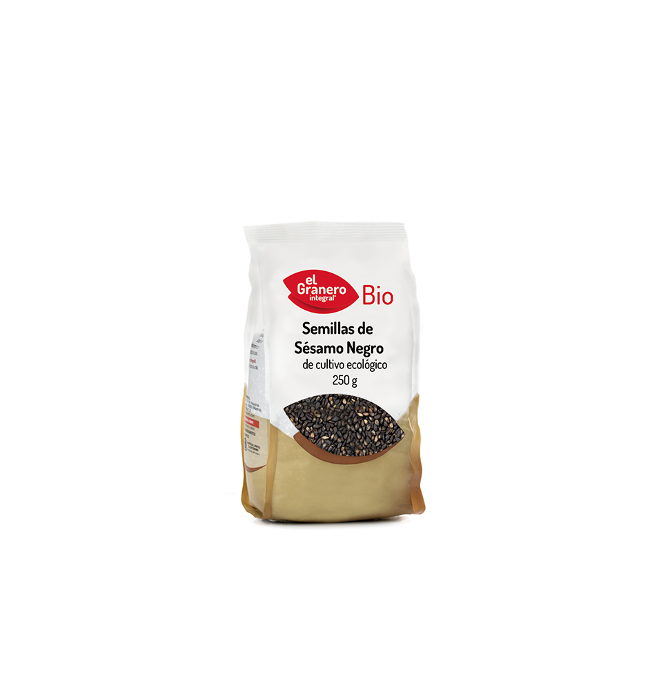 Semillas de sésamo negro Bio, El Granero (250g)  de El Granero Integral