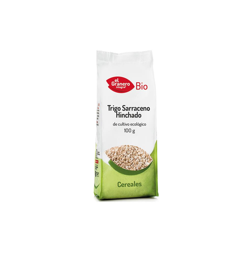 Trigo sarraceno hinchado Bio, El Granero (100g)SanoBio