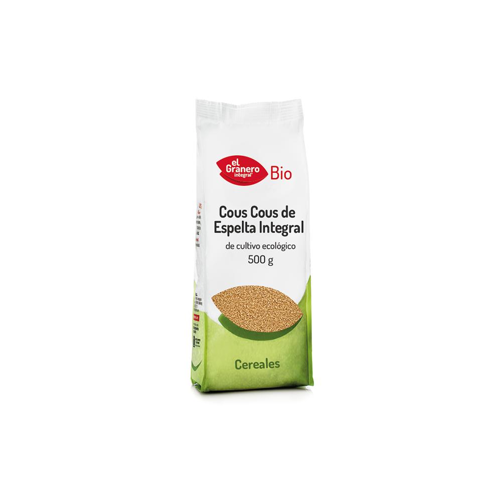 Cous cous de espelta integral Bio, El Granero (500g)  de El Granero Integral