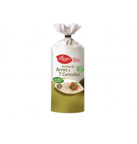 Tortitas de arroz y 7 cereales Bio, El Granero (100g)SanoBio