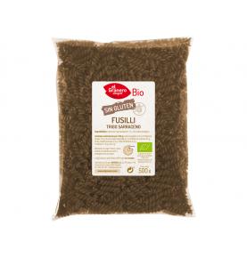 Fusilli de trigo sarraceno sin gluten Bio, El Granero (500g)SanoBio