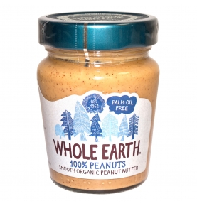 Crema de cacahuete bio, Whole Earth (227g)SanoBio