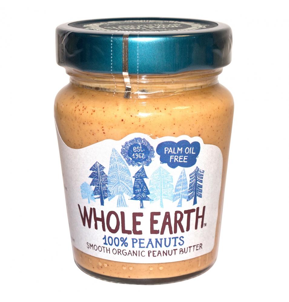 Crema de cacahuete bio, Whole Earth (227g)SanoBio