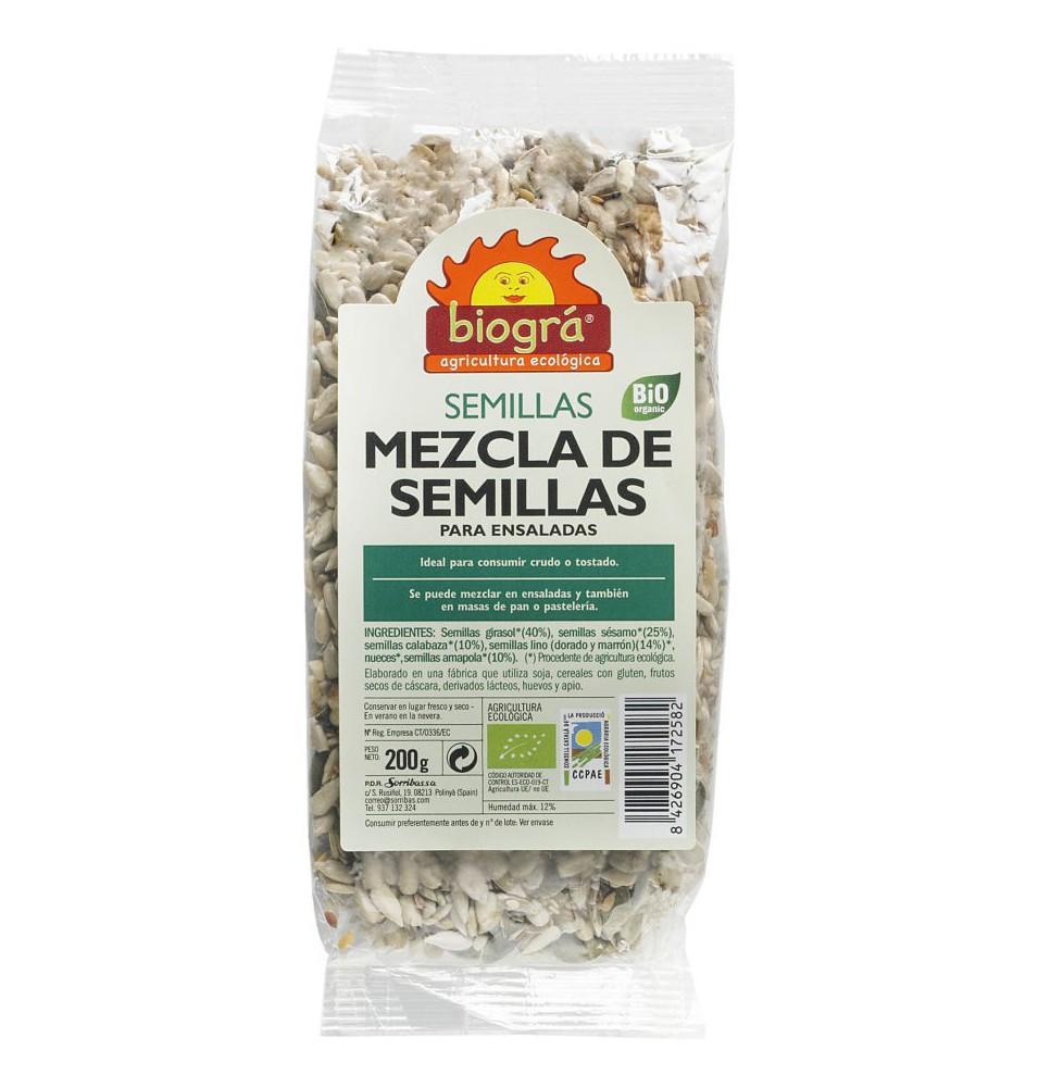Mezcla de semillas Bio, Biográ (200g)  de Biográ
