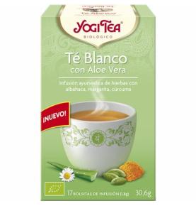 Infusión te blanco con aloe vera Bio, Yogi Tea (17bolsas)  de YOGI TEA®