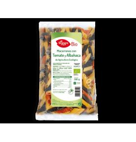 Macarrones con tomate y albahaca Bio, El Granero (500g) SanoBio