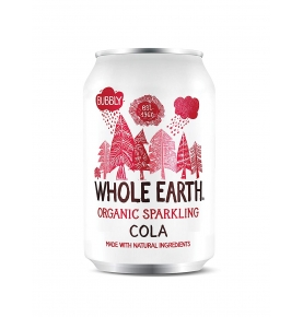 Refresco de cola sin azúcar Bio, Whole Earth (330ml) SanoBio