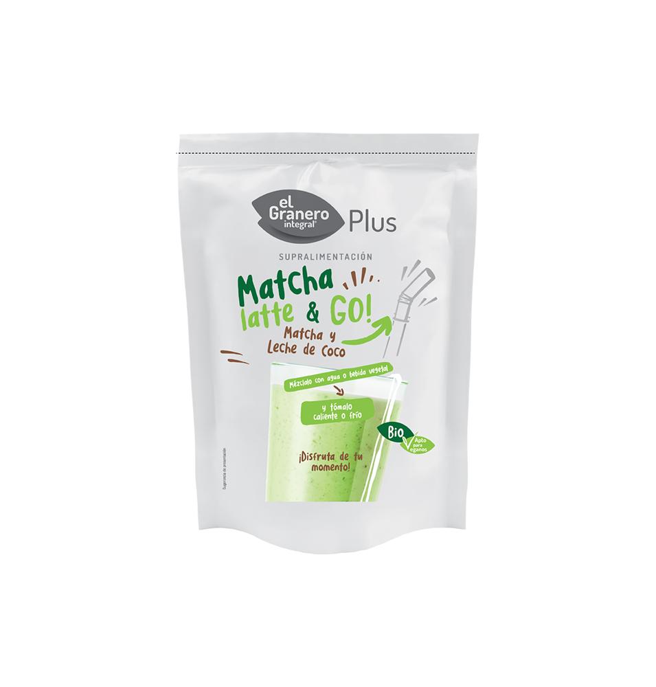 Matcha Latte & Go Bio, El Granero (150g)  de El Granero Integral