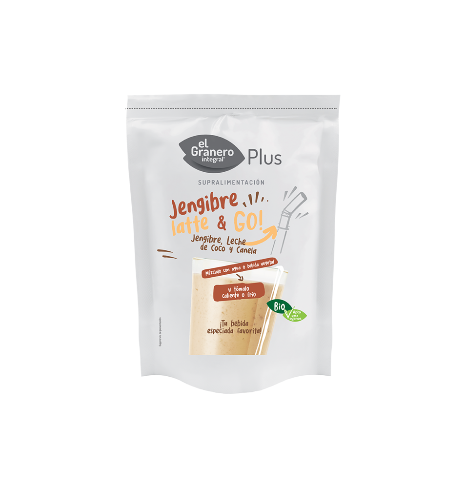 Jengibre Latte & Go Bio,El Granero (150g)SanoBio