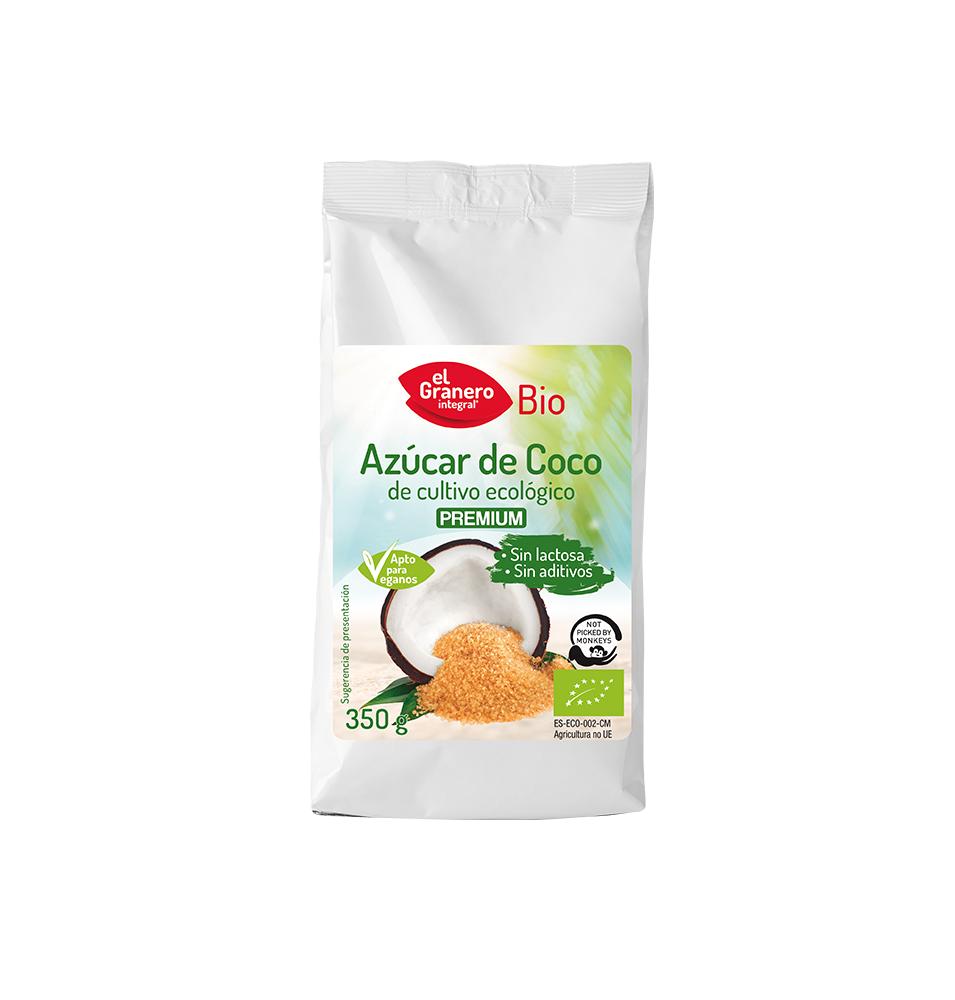 Azúcar de coco Bio, El Granero (350g) SanoBio