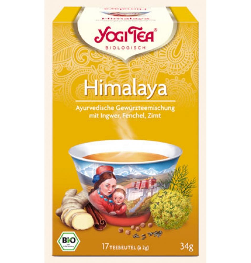Infusión himalaya Bio, Yogi tea (17bolsas)  de YOGI TEA®
