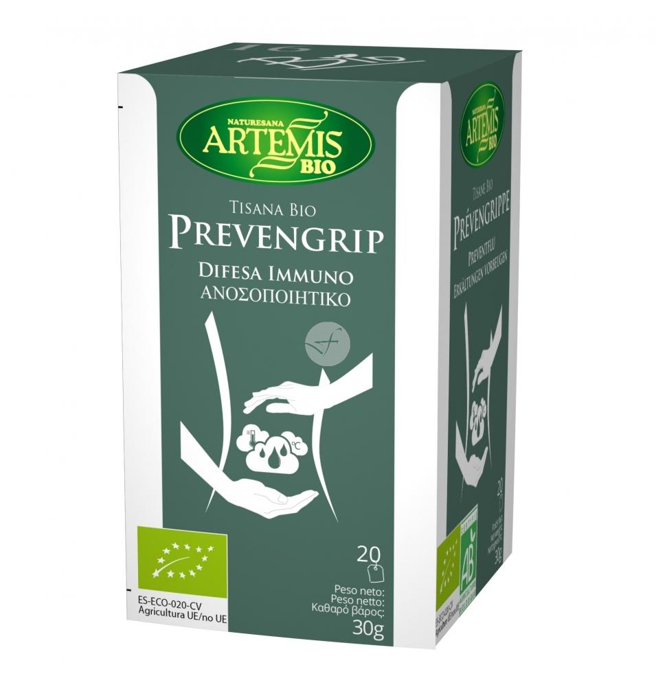 Tisana Bio Prevengrip, Artemis (20 bolsitas)  de Artemis Bio