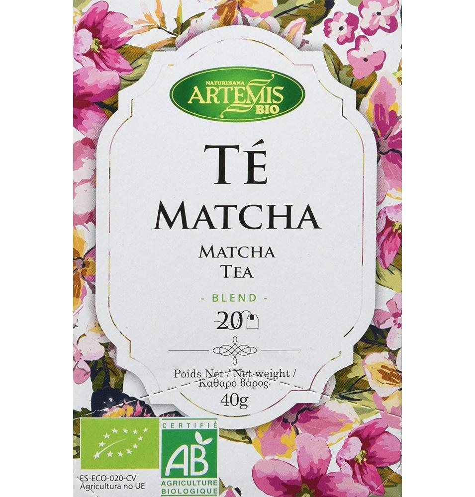 Té Matcha Blend Bio, Artemis (20 bolsitas)  de Artemis Bio