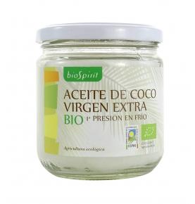 Aceite de coco Bio, BioSpirit (240 ml)