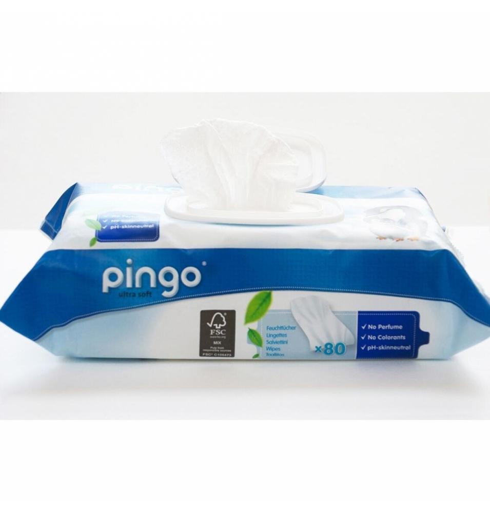 Toallitas húmedas Bio, Pingo (80uni)  de