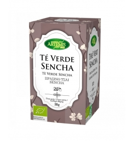 Té Verde Sencha Bio, Artemis (20 filtros)SanoBio