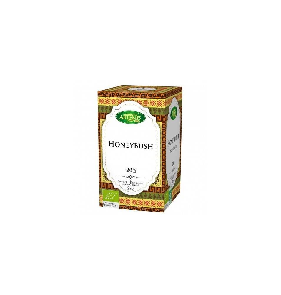 Té HoneyBush Bio, Artemis (20 filtros)