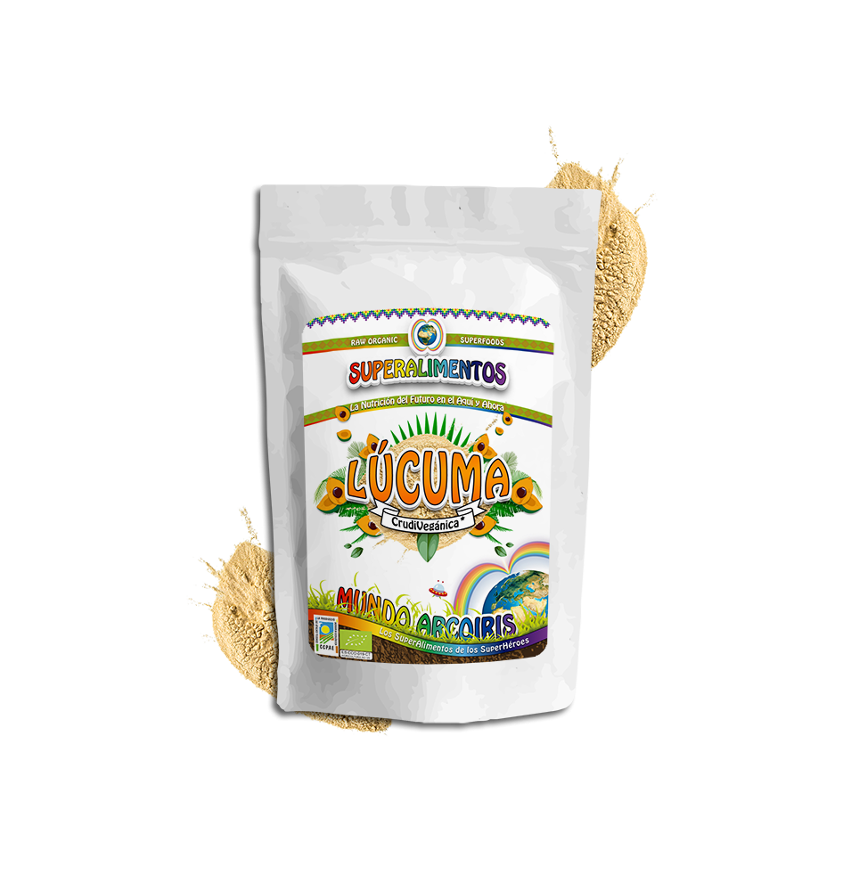 Lúcuma polvo Bio, Mundo Arcoiris (250g)SanoBio