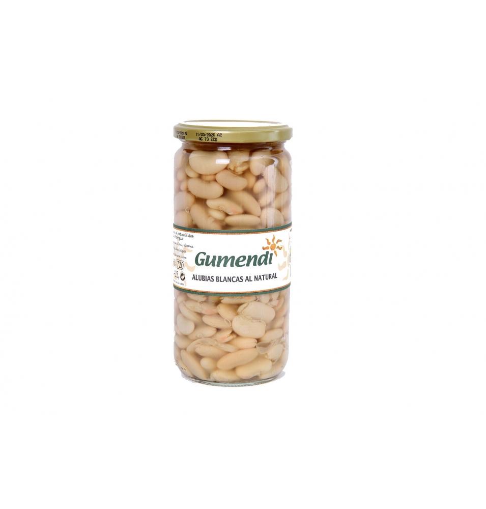 Alubia blanca conserva Bio, Gumendi (660g)