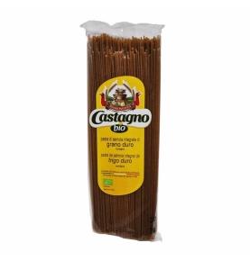 Espagueti de trigo integral Bio, Castagno (500g)