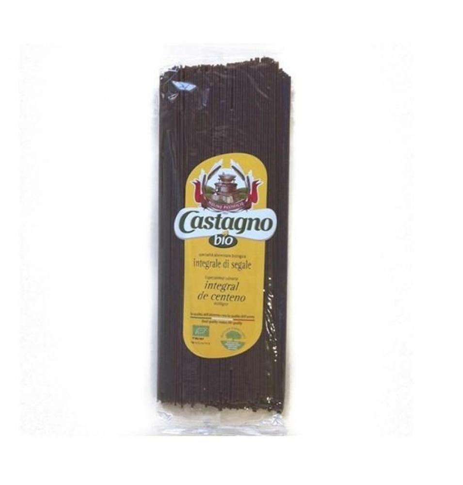 Espagueti centeno integral Bio, Castagno (500g)