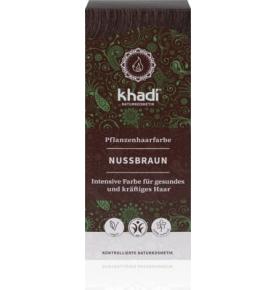 Tinte color castaño avellana, Khadi (100g)  de