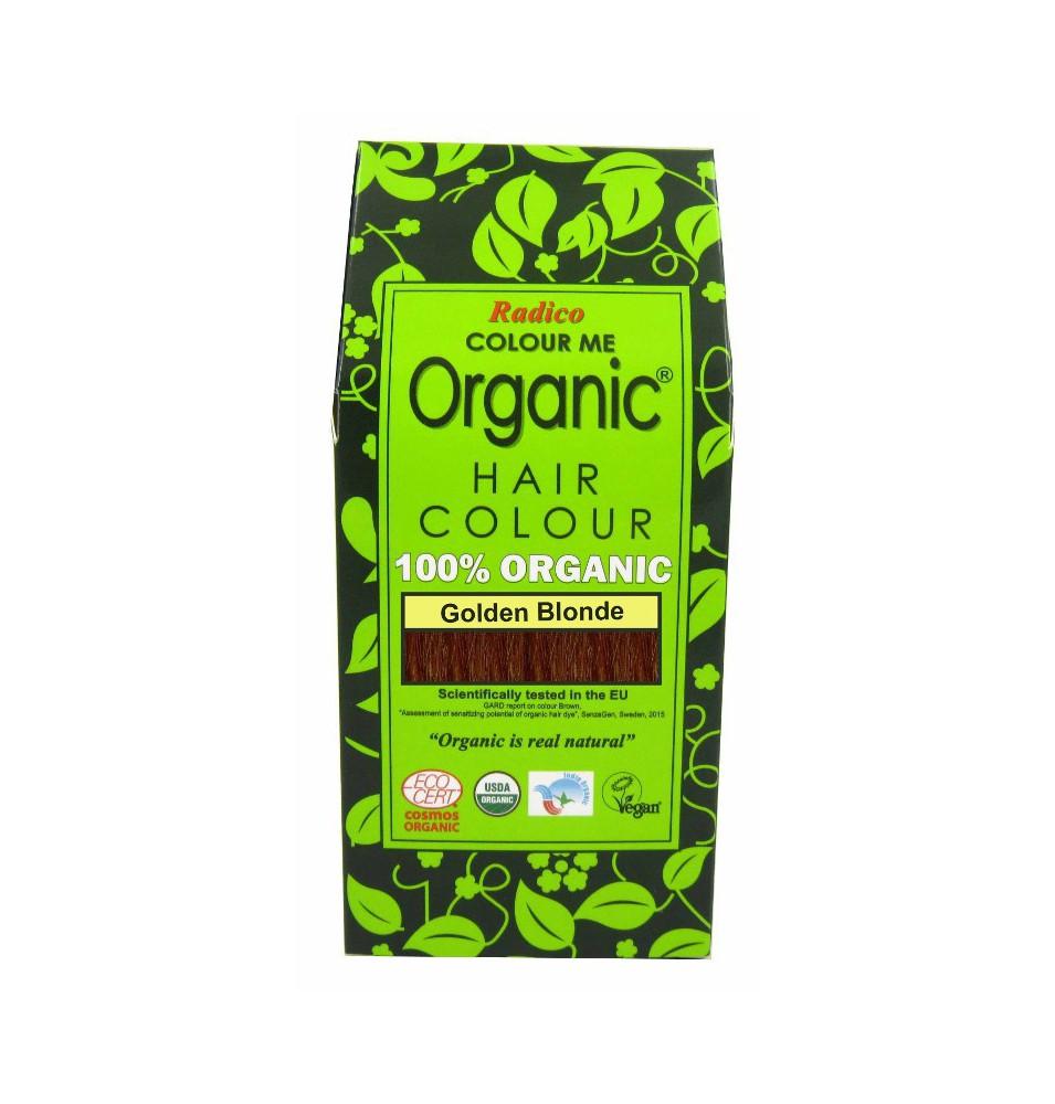 Tinte cabello vegetal rubio de Radico (100g)  de Radico