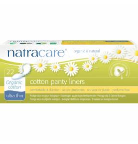 Protegeslip ultra fino 100% Algodón Bio, Natracare (22 Uni)  de NATRACARE
