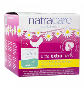 Compresa Ultra Extra Normal Alas Bio, Natracare (12 Uni)  de NATRACARE