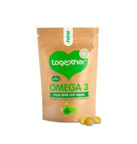 Omega 3 (DHA de algas), Together (30cap)  de Together