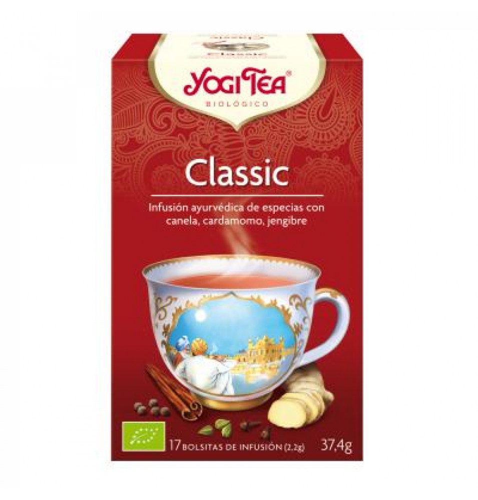 Infusión classic Bio, Yogi Tea (17bolsas)  de YOGI TEA®