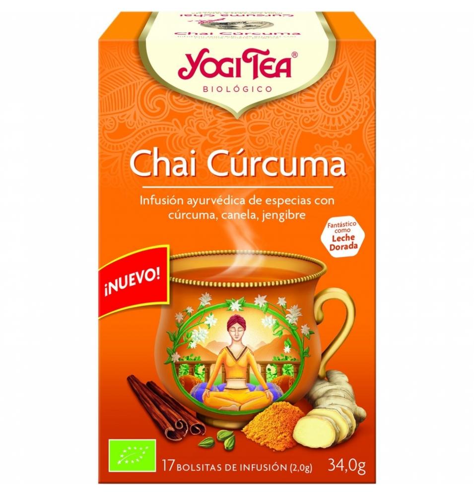 Infusión Chai Cúrcuma Bio, Yogi Tea (17bolsas)  de YOGI TEA®