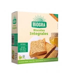 Biscotes Integrales de Lino Bio, Biográ (270g)  de Biográ