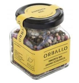 Mix Pimientas en grano Bio, Orballo (60g)